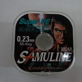MULTIFILAMENTO SASAME SUPER LIGHT VERDE 0.23MM 100MT