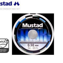 NYLON MUSTAD THOR CLEAR 0,25MM. X100MTS.