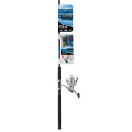 COMBO SHAKESPEARE SURF PIER CAJA 10-25 LB 2TS 2,40 MTS REEL 50 KIT